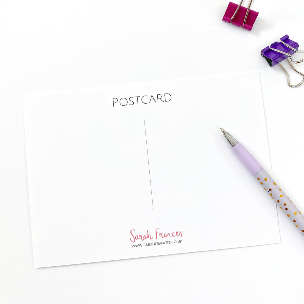 Positive Thinking Postcard Pack - Sarah Frances