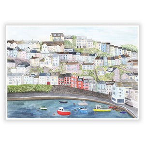 Brixham Harbour Art Print
