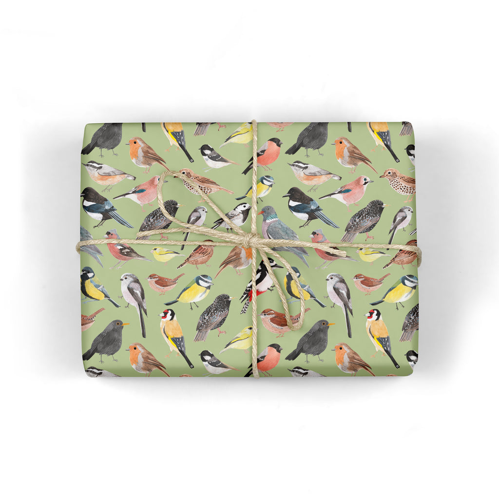 British Birds Wrapping Paper - Sarah Frances