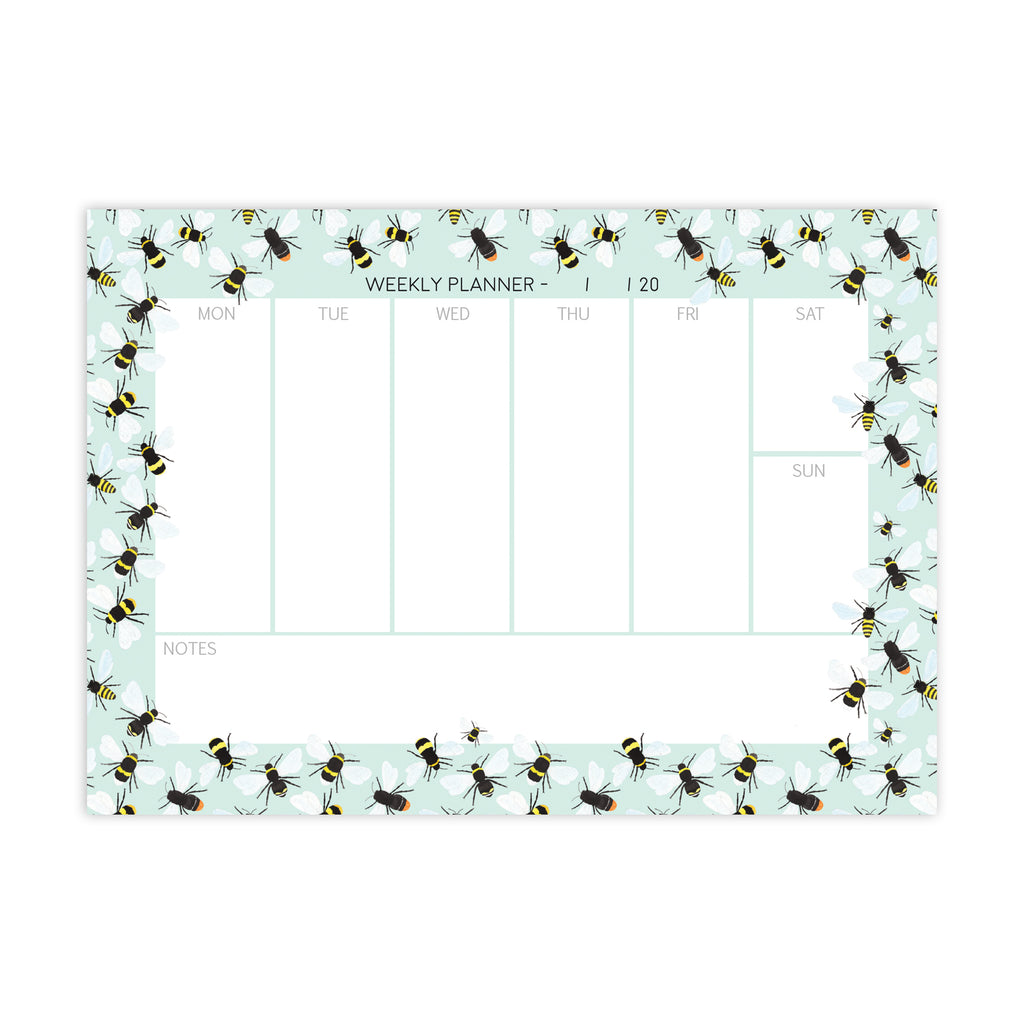 Busy Bee Notepad - Sarah Frances