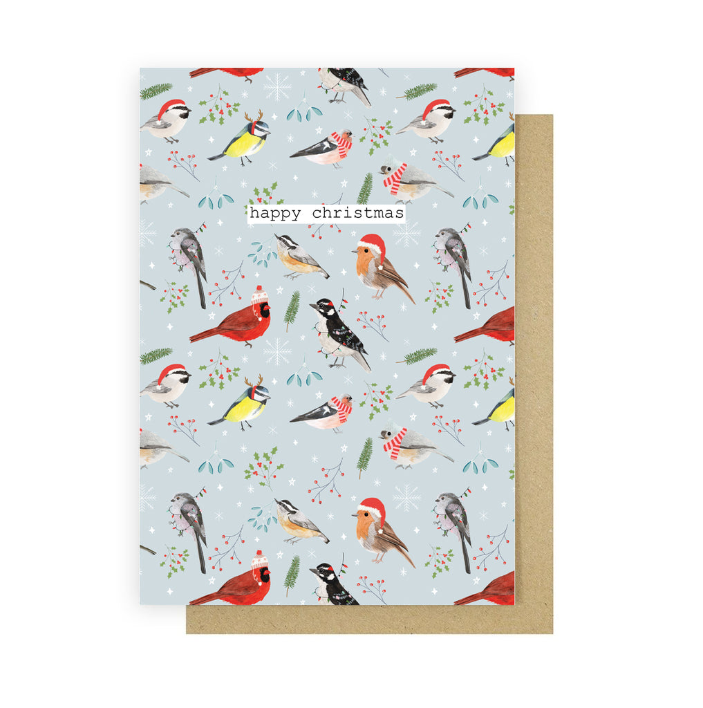 Christmas Birds Card - Sarah Frances