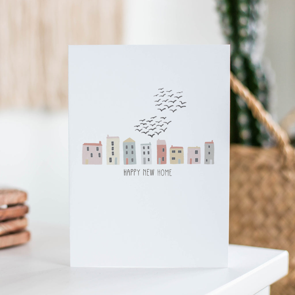 Happy New Home Greetings Card - Sarah Frances