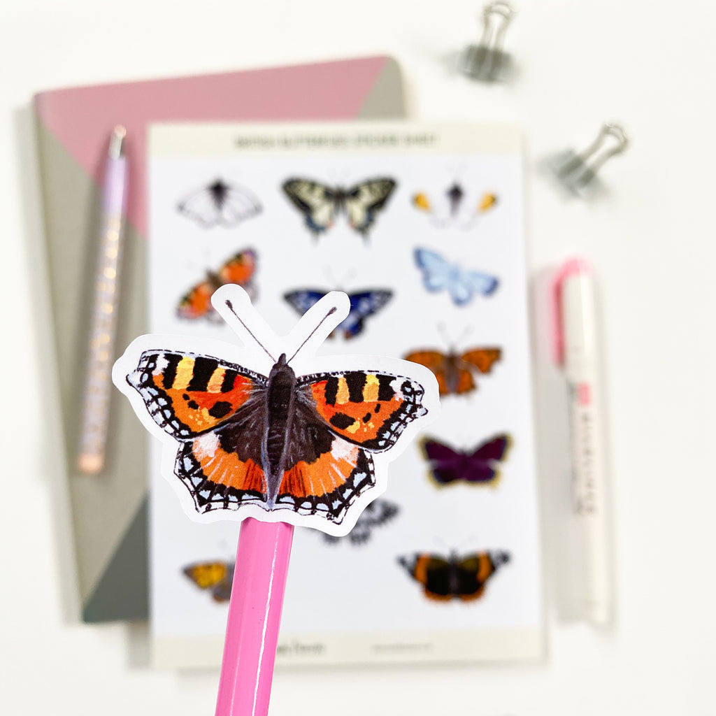 British Butterfly Stickers - Sarah Frances