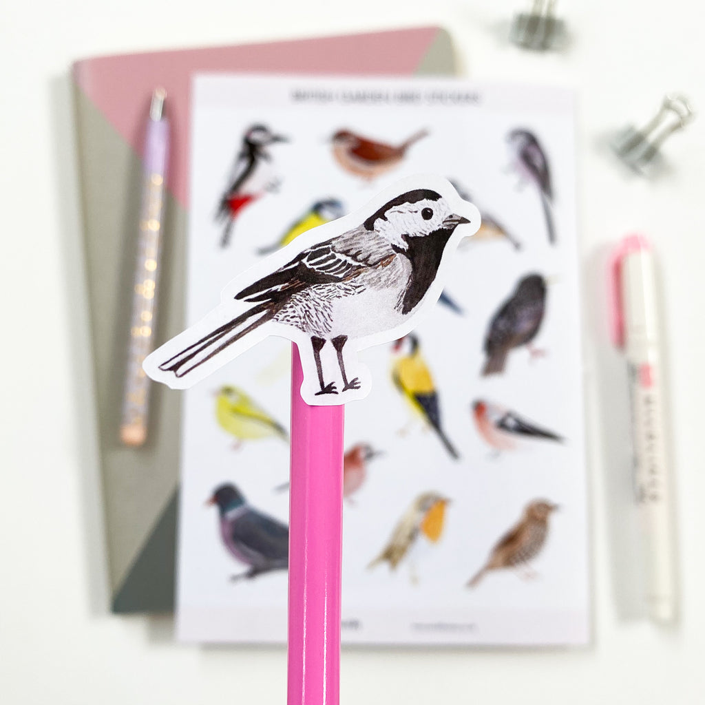 British Bird Stickers - Sarah Frances