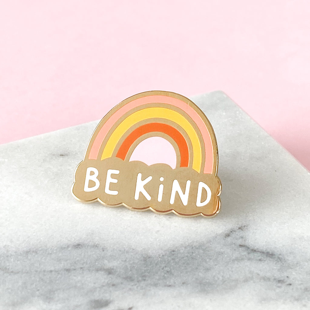 Be Kind Enamel Pin - Sarah Frances