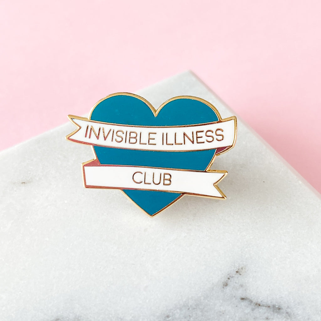 Invisible Illness Club Enamel Pin (Limited Edition) - Sarah Frances