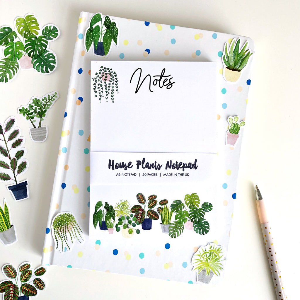 House Plants Notepad - Sarah Frances