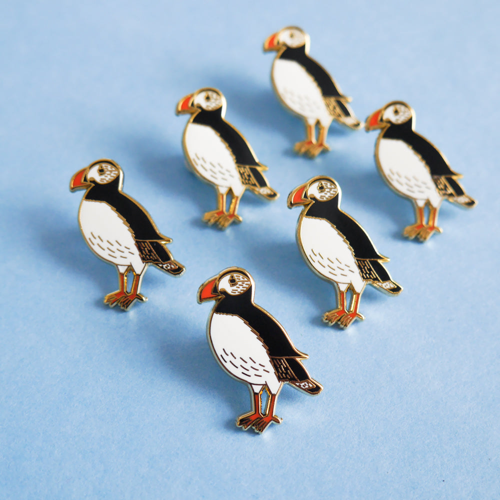 Puffin Enamel Pin - Sarah Frances