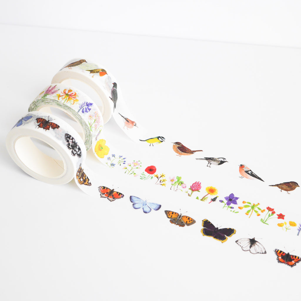 British Nature Washi Tape Set - Sarah Frances