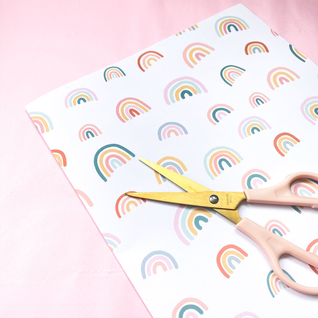 Rainbow Wrapping Paper - Sarah Frances