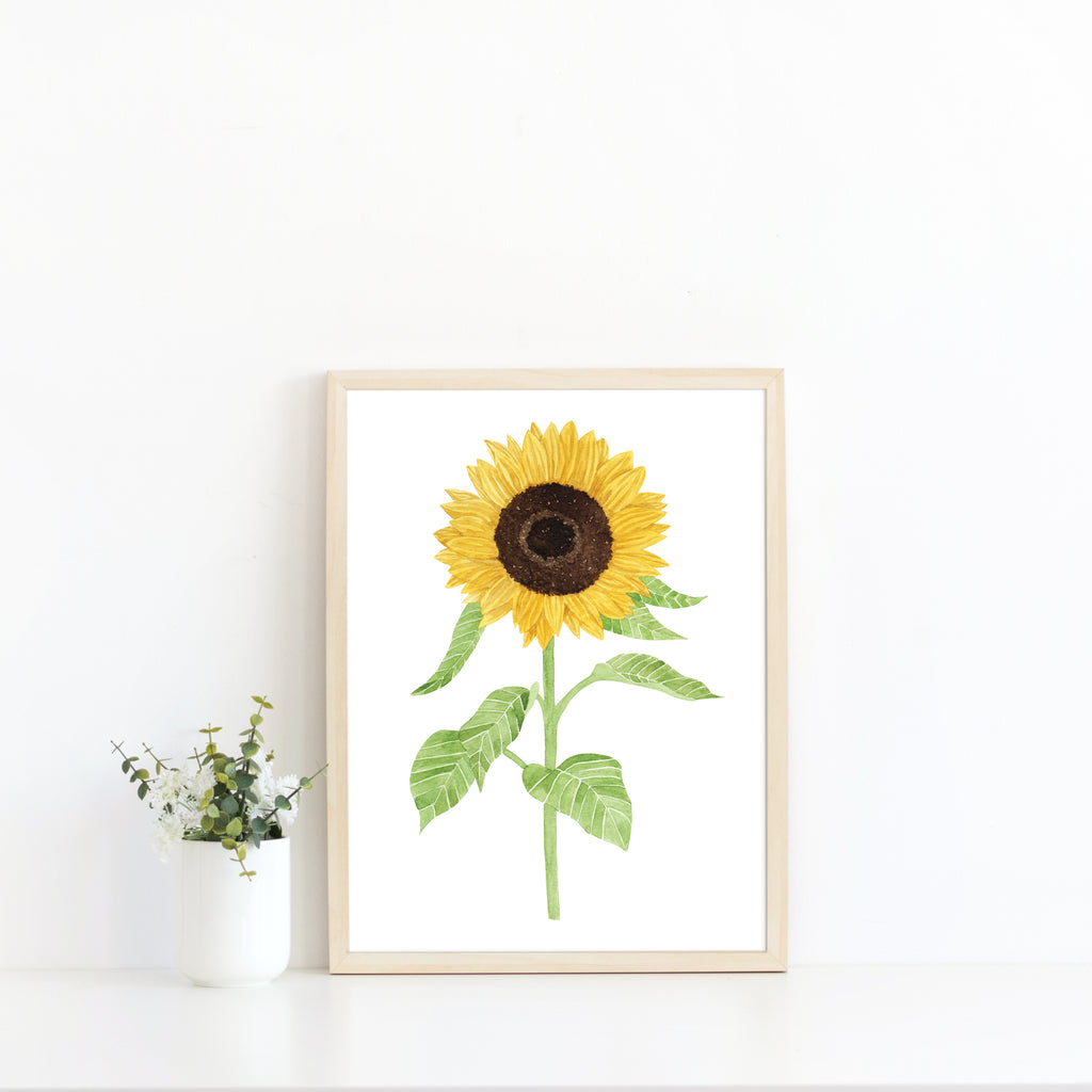 Sunflower Art Print - Sarah Frances