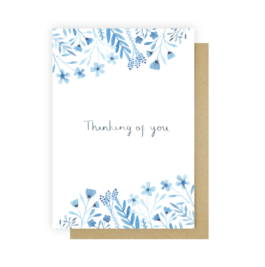 Thinking of You Greetings Card - Sarah Frances