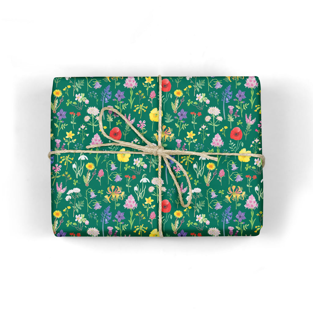 Wildflower Wrapping Paper - Sarah Frances