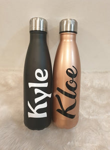 Double walled drink bottles