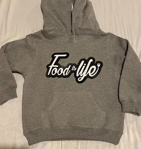 Food is life Kids Hoodie