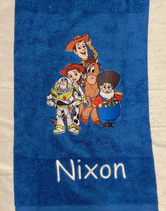 Toy story  towel