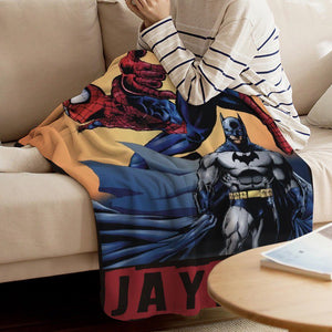 Spiderman Custom Blanket
