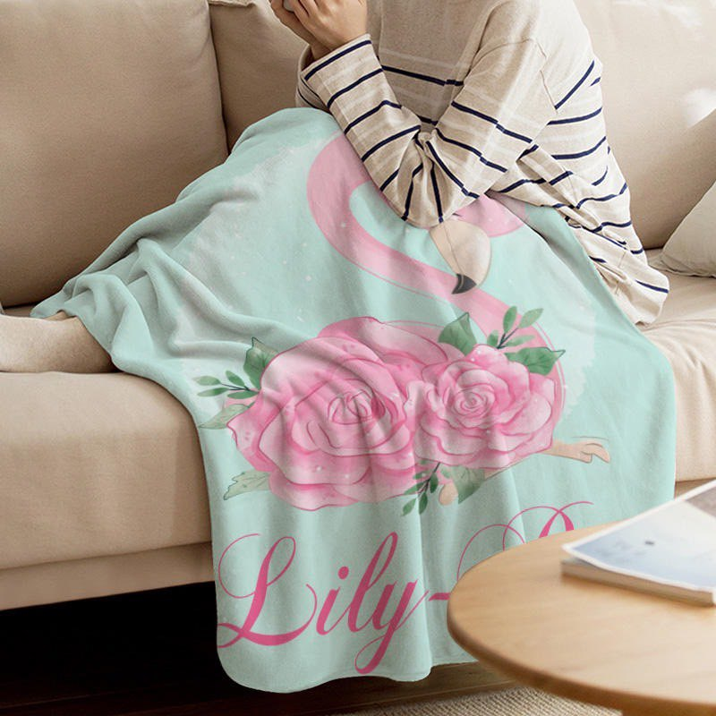 Flamingo Custom Blanket