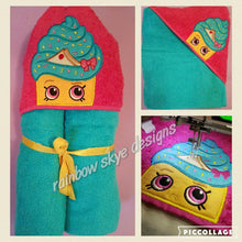 Shopping  Hooded Towel