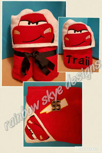 Cars Hooded Towel