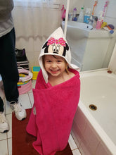 PInk Mouse Hooded Towel