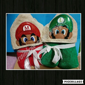 M & L  Brothers Hooded Towel