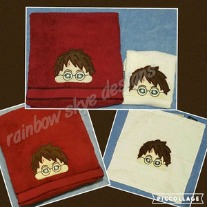 Harry Potter Towel Set