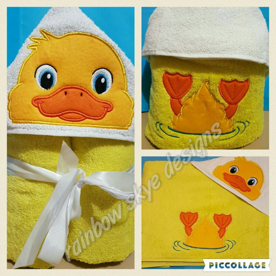 Duck Hooded Towel