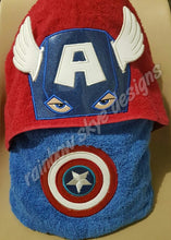 3D American Hooded Towel