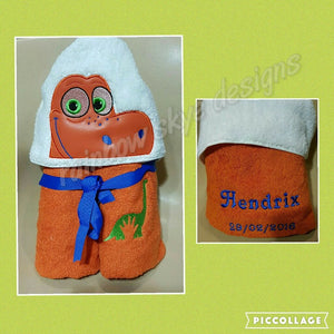 Good Dinosaur Hooded Towel