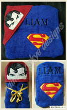 Blueman Hero  Hooded Towel
