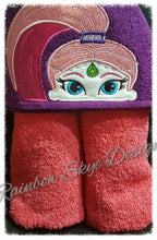 Princess Girls Hooded Towels