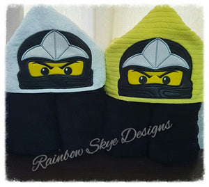 Ninja Hooded Towels