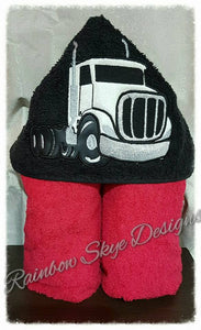 Mac Truck Hooded Towel