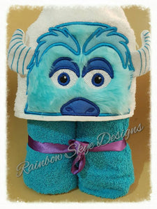 Monster Inc Hooded Towel