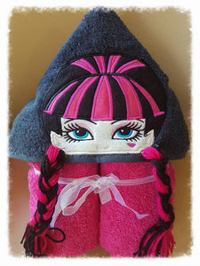 Scary High Hooded Towel