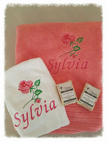 4 piece Towel Sets.