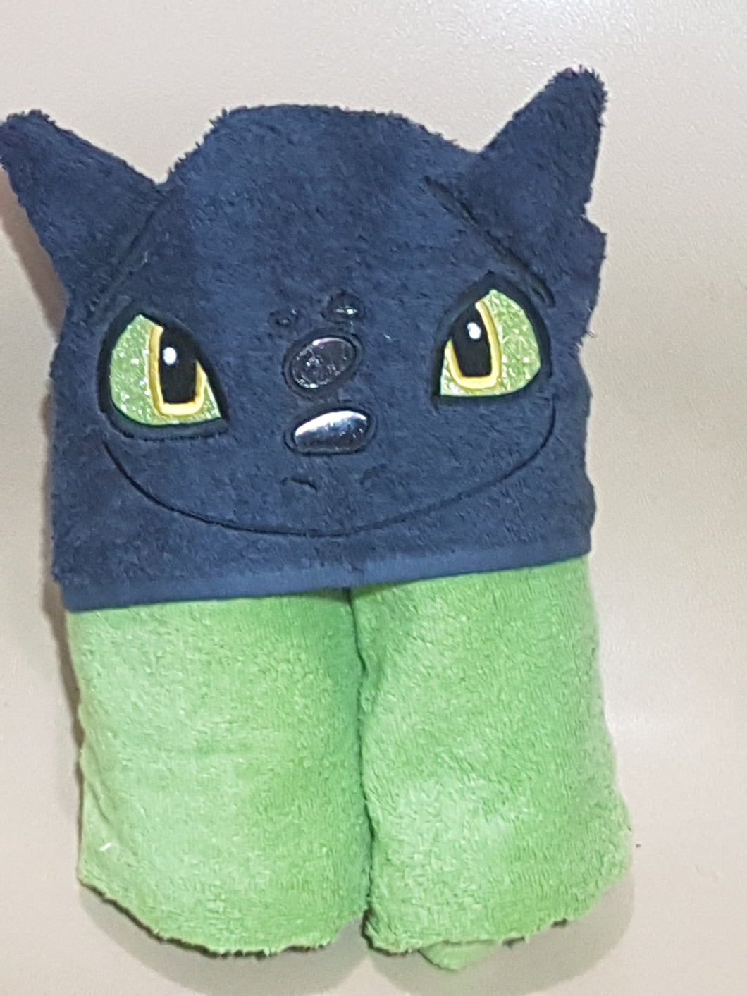 Toothless Hooded Towel