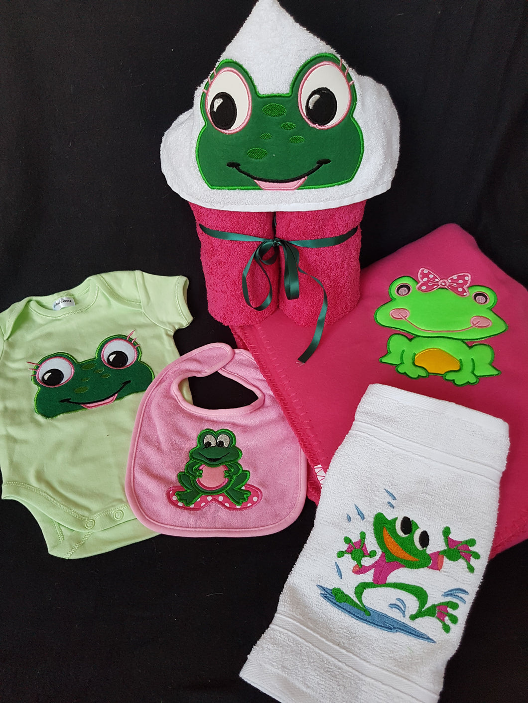 Frog Baby Pack