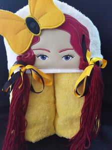Emma Wiggle Hooded Towel.
