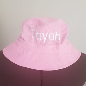 Bucket  hats personalised