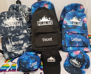 Fortnite glow in the dark caps/hats