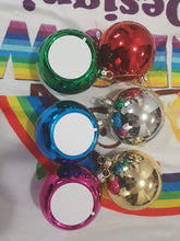 Xmas baubles set of 6