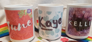 Mugs personalised