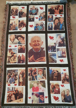 Throw Rug/Blanket (9 panel photo blanket}