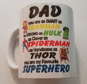 Dad you are as smart as Ironman Coffee Mug