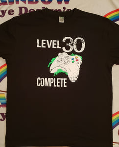 Level 30 complete tshirt