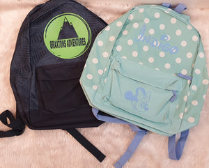 Clearance School Bags Personalised