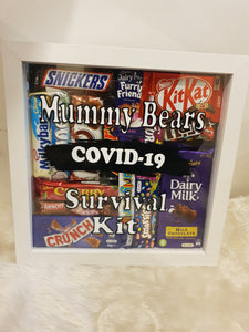 Chocolate shadow box personalised