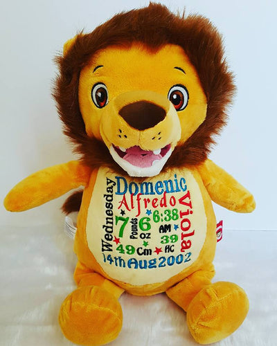 Sundrop the Lion Signature